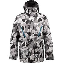 Burton Men's Breach Snow Jacket - Snow M13 Camo - Medium - Nwt - Reg 340 Photo