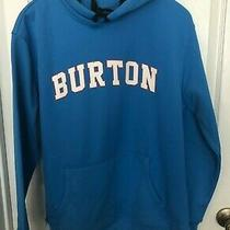 Burton Men's Dryride Thermex Pullover Blue Hoodie Medium M Nwt  Photo