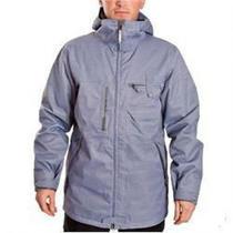 Burton Men's Freemont Snow Jacket Galvanized Grey Small  Reg 300.00 Photo