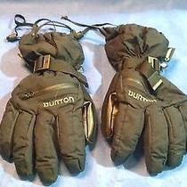 Burton Men's Gore-Tex Gloves Size S                                      Lh-A77 Photo