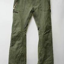 Burton Men's Green Cargo Pants Snowboard Ski Climbing Trousers Size M W32l34 New Photo