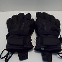 Burton Mens Gloves Size Large Black Preowned Photo