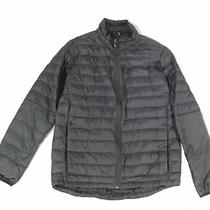 Burton Mens Jacket Black Size Large L Packable Full-Zip Mock Puffer 199 282 Photo