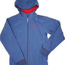Burton Mens Roland Softshell Hooded Jacket Blue Medium Nwt Photo