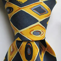 Burton Menswear    Imppeccable Pure  Silk Tie Made in Uk Photo