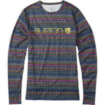 Burton Midweight Crew Layer Top (M) Fun Fair Photo
