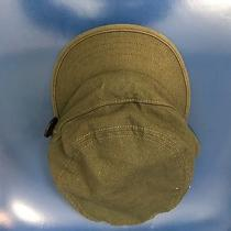 Burton Olive Cap Hat Womens Sz M Snowboard Hidden Pocket Elastic Back Photo
