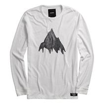 Burton Painted Mountain Thermal Tee (L) Stout White Photo