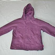 Burton Purple Shearling Lined Snow Board Ski Jacket Girls Large Photo