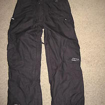 Burton Ride Snowboards Pants (Large) Black Cell Five 5000mm Waterproof Photo