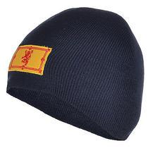 Burton Scotland Mens Fine Knit Plain Beanie Hat - Navy - One Size Fits All Photo