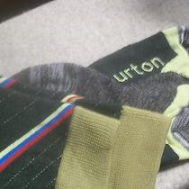 Burton Ski Socks Trillium Clover Size Large Nwt Photo