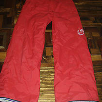 Burton Snow Boarding Pants Red Kids Medium Photo