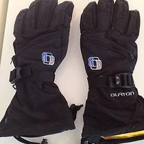 Burton Snow Gloves With Waterproof Leather Palms Photo