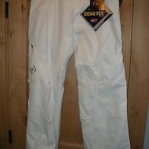 Burton Snowboard 2012 Womens Ak 2l Summit Pants Size L New Bright White Photo