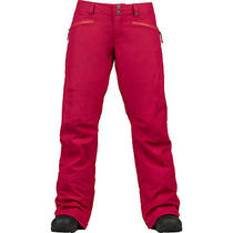 Burton Snowboard 2014 Womens Society Pants Size Medium New Cerise Photo