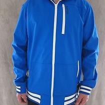 Burton Snowboard Dryride Softshell  Heron Blue Hoodie Jacket Coat Size Large Nwt Photo