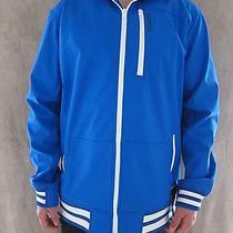 Burton Snowboard Dryride Softshell  Heron Blue Hoodie Jacket Coat Size Large Nwt Photo