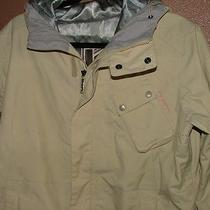 Burton Snowboard Women's Large Off-White Parka  Photo