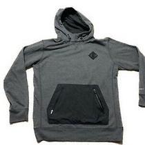 Burton Snowboarding Thermal Sweatshirt Mens Grey and Black Size Medium Photo