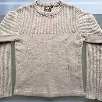 Burton Snowboards Access Ladies Womens Sweater S Small Beige Wool Blend Photo