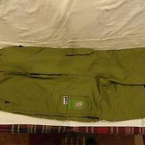 Burton Snowboards Osi Ski Pants Sz M Medium  Green Women's Snowboarding Euc   Photo