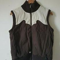 Burton Snowboards Us Womens Insulated Fleece Vest Gilet Size S Photo