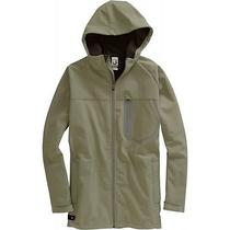 Burton Static Softshell Hooded Zip Jacket (L) Lichen Photo