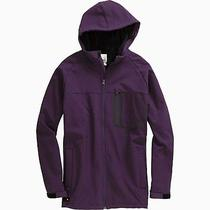 Burton Static Softshell Hooded Zip Jacket (L) Purple Label Photo