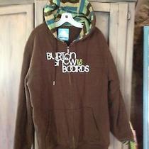 Burton Sweatshirt Jacket Xl Photo