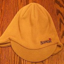 Burton Tan Ski/snowboard Hat With Brim and Ear Covering Euc Photo
