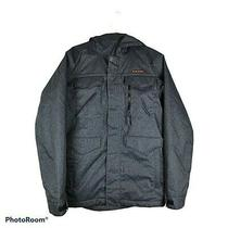 Burton Thermolite Mens Ski Jacket Blue Flap Pockets Hooded Lined Dryride Xs Photo
