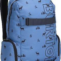 Burton Unisex Emphasis Backpack Bag - Cove Outdoor Print - Blue Photo