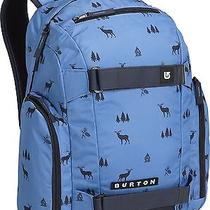 Burton Unisex Metalhead Backpack Bag - Cove Outdoor Print - Blue Photo