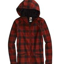 Burton Venture Softshell Jacket (M) Risque Burn Out Plaid Photo