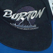 Burton Watch Your Back Country Nwt Mens Hat Cap Snowboarding Osfa Adjustable Fit Photo