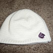 Burton White Lined   Winter Hat  Photo