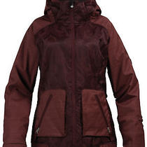 Burton Women's Dante Jacket Le Rue Jaqd Mahogany Xs Nwt Photo