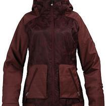 Burton Women's Dante Jacket Le Rue Jaqd Mahogany Xs Nwt Photo