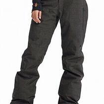 Burton Women's Pants Gray Size Xl Snow Fly Zip-Fly Cargo Stretch 189 176 Photo