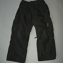 Burton Women's Solid Black Helsinki Smu Ski Snowboard Pants Worn One Season Xs Photo
