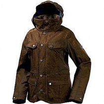 Burton Women's Windsor Snow Jacket Med Brown Reg 300.00 Photo