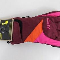 Burton Womens Approach Snowboard Gloves Small Sangria Photo