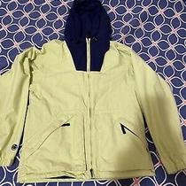 Burton Womens Biolite  Jacket Size Small Lime Green Zipper Up Hoodie (Y163) Photo