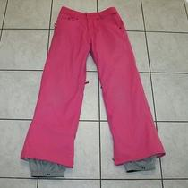 Burton Womens Pink Snowboarding Pants / Ski Girls Youth Xs Photo