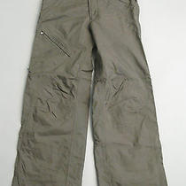 Burton Womens Radar Ski Snowboard Pants Brown Gray Green Cargo Small S Photo