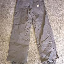 Burton Womens Radar Ski Snowboard Pants Brown Khaki Beige Cargo Small S Photo