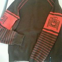 Burton Womens Sweater--Small Brown & Orange Photo