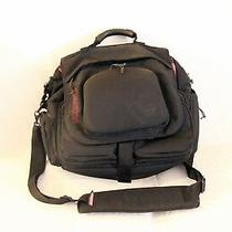 Burton Xl Messenger Bag Backpack Black/red Photo
