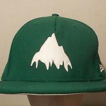 Burton You Owe Again New Era Fitted Wool Hat (7 1/2) Green- Burton Snowboards  Photo
